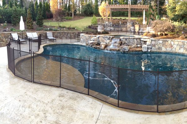 The Protect A Child Pool Fence Is Perfect Choice For Safety In Atlanta And Southeastern U S Area Materials Can Withstand Harsh